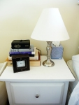 Curtis' nightstand (before)