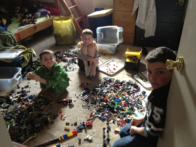 legos, legos everywhere