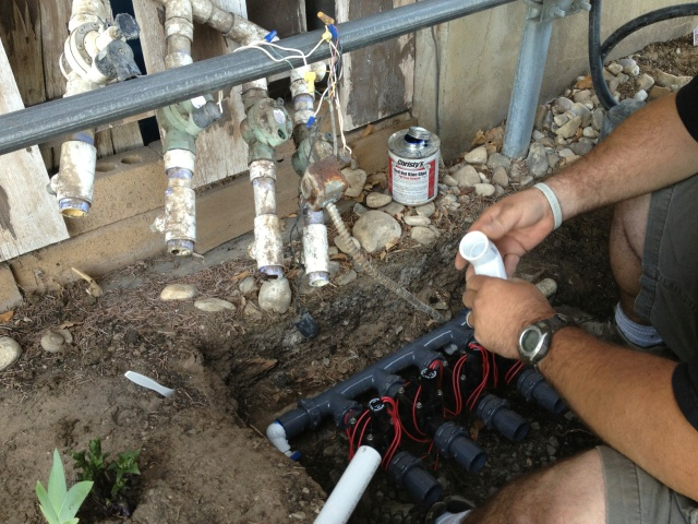 fixing sprinkler valves